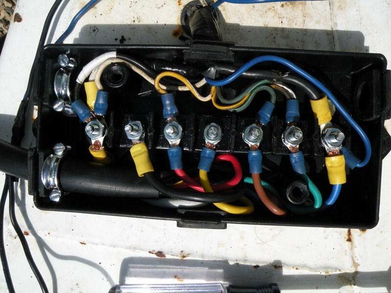pj trailer plug wiring diagram john deere 445 toyskids co somurich com 7 way junction box gooseneck