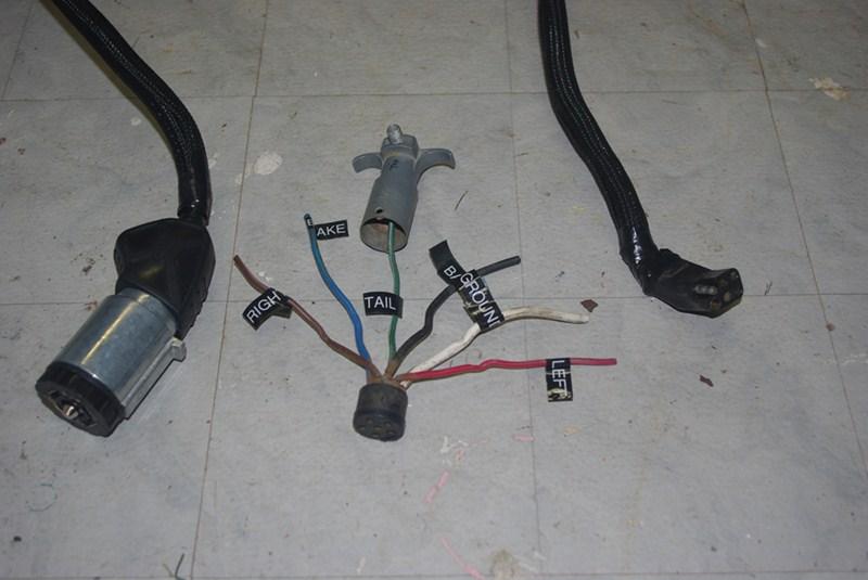 5th Wheel Wiring Diagram 7 Way Plug Moreover 4 Plug Trailer Wiring