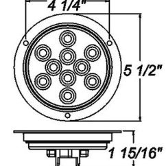 Peterson Trailer Lights Wiring Diagram 2001 Subaru Forester Fuel Pump Sealed, 4