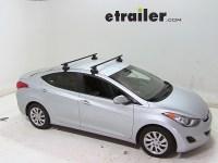 Thule Roof Rack for 2013 Hyundai Elantra | etrailer.com
