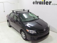 Thule Roof Rack for 2013 Toyota Corolla | etrailer.com