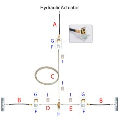 Boat Trailer Wiring Diagram 5 Pin House Symbols Uk Disc Brake Kit And Actuator W/ Electric Lockout - Single, 3,500-lb Axle Titan Brakes ...