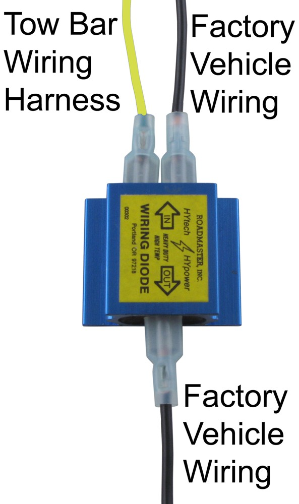 4 Wire Trailer Light Wiring Diagram Diode Installation Instructions For A Dinghy With Separate