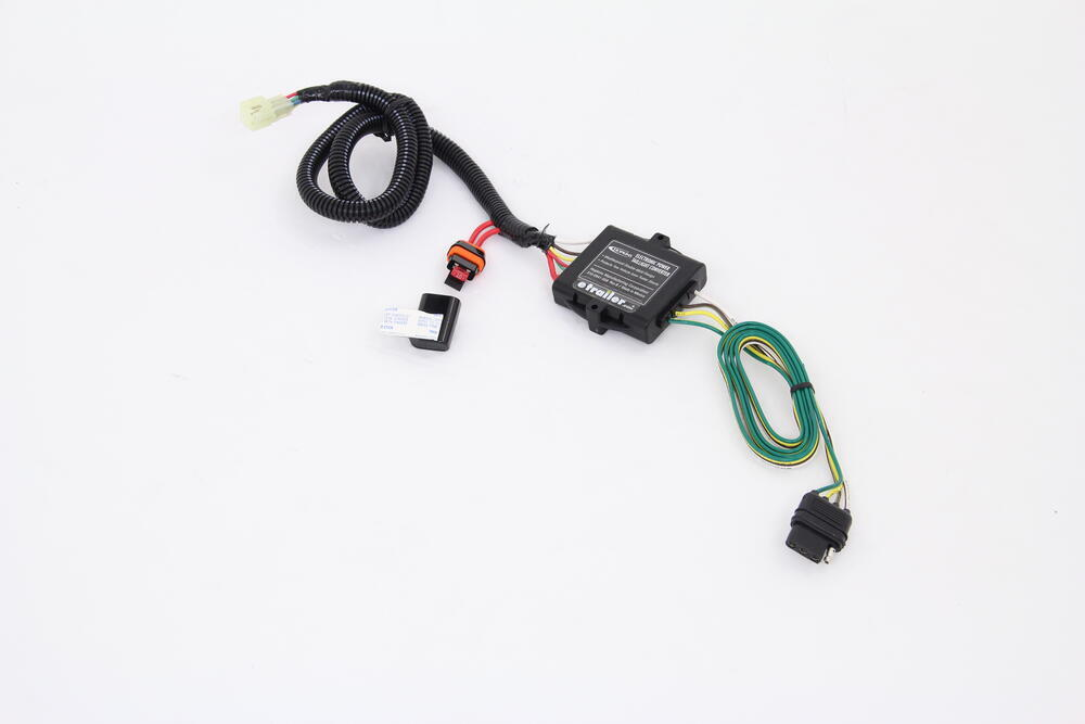 Plug-N-Tow (R) Vehicle Wiring Harness with 4 Pole Trailer