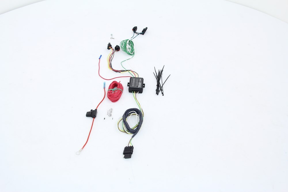 Hopkins Plug-In Simple Vehicle Wiring Harness with 4-Pole