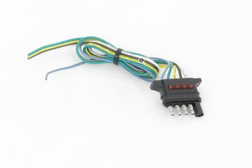 Hopkins 5-Way Flat Trailer Connector w/ LED Test Lights