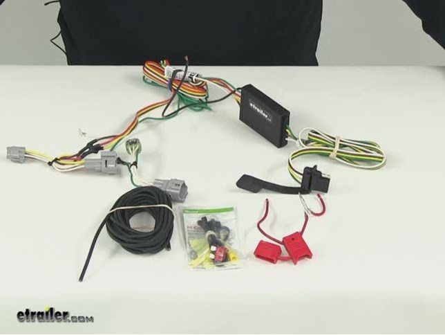 Curt Custom Fit Vehicle Wiring Custom Fit Vehicle Wiring C55515