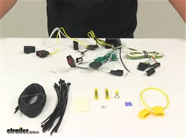 Trailer Wiring Harness Kit 4 Pole Flat Connector Marineworks