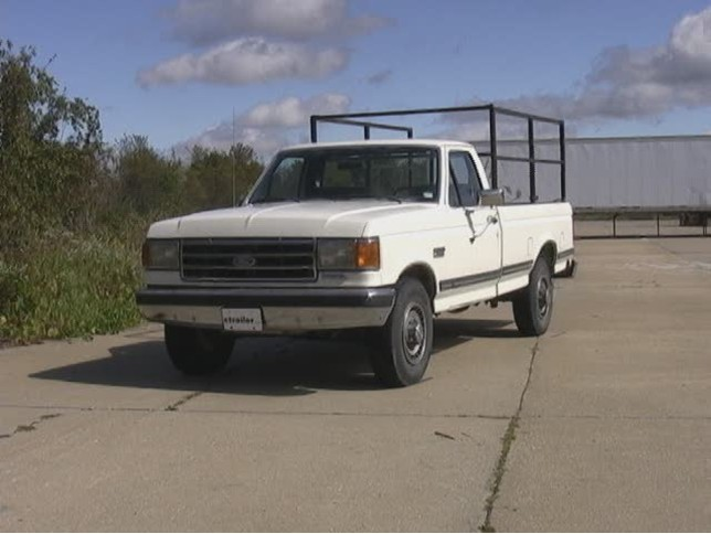 tekonsha voyager specs trane wiring diagram 2307 1991 ford f-150, f-250, f-350 trailer hitch - curt