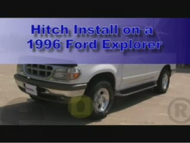 Ford Explorer Trailer Wiring Diagram 1996 Ford Explorer Trailer