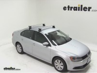 2002 Volkswagen Jetta Rhino-Rack 2500 Series Roof Rack ...