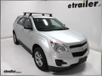 Chevrolet Equinox Roof Rack Side Rails - Aurora Roofing ...