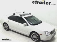 Roof Rack for 2009 ford fusion | etrailer.com