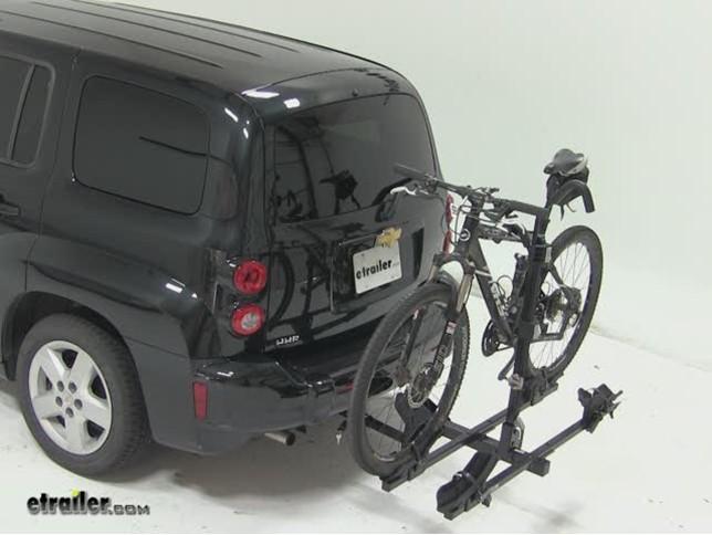 thule doubletrack hitch bike rack review 2011 chevrolet hhr