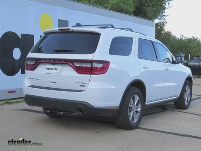 2015 Dodge Durango Custom Fit Vehicle Wiring Tekonsha