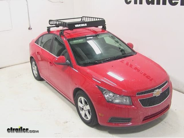 Chevrolet Cruze Yakima LoadWarrior Roof Rack Cargo Basket