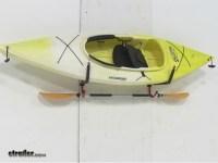 Gear Up Deluxe Wall Mount Folding Kayak Storage Rack - 100 ...