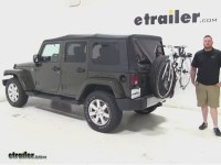 Jeep Wrangler Unlimited Spare Tire Bike Rack - Bicycling ...
