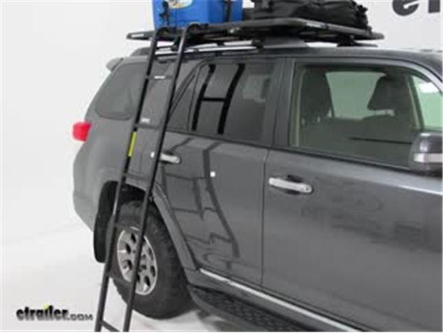 rhino rack pioneer platform rack folding ladder review