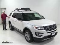 2016 Ford Explorer Roof Rack Installation - 12.300 About Roof