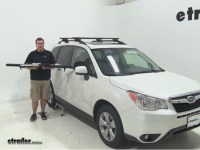 Subaru Forester Bicycle Roof Rack