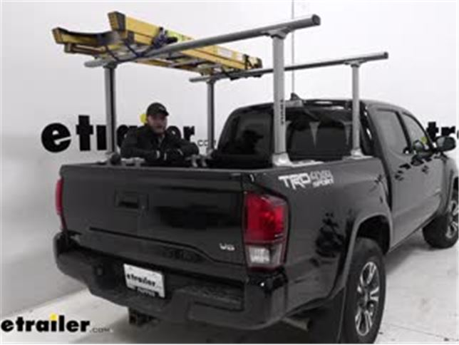 thule ladder racks review 2019 toyota tacoma