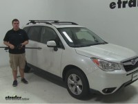 Thule Roof Rack for 2015 Forester by Subaru | etrailer.com