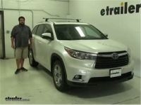 2017 Toyota Highlander Roof Bike Rack - Bicycling and the ...