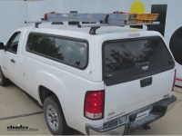 TracRac CapRac Ladder Rack for Camper Shell/Truck Cap ...