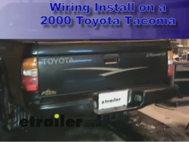 1999 toyota tacoma trailer hitch wiring  split ac wiring