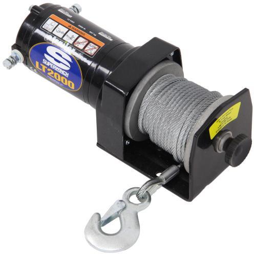 small resolution of superwinch lt2000 atv winch wire rope roller fairlead 2 000 lbs no remote 1120210