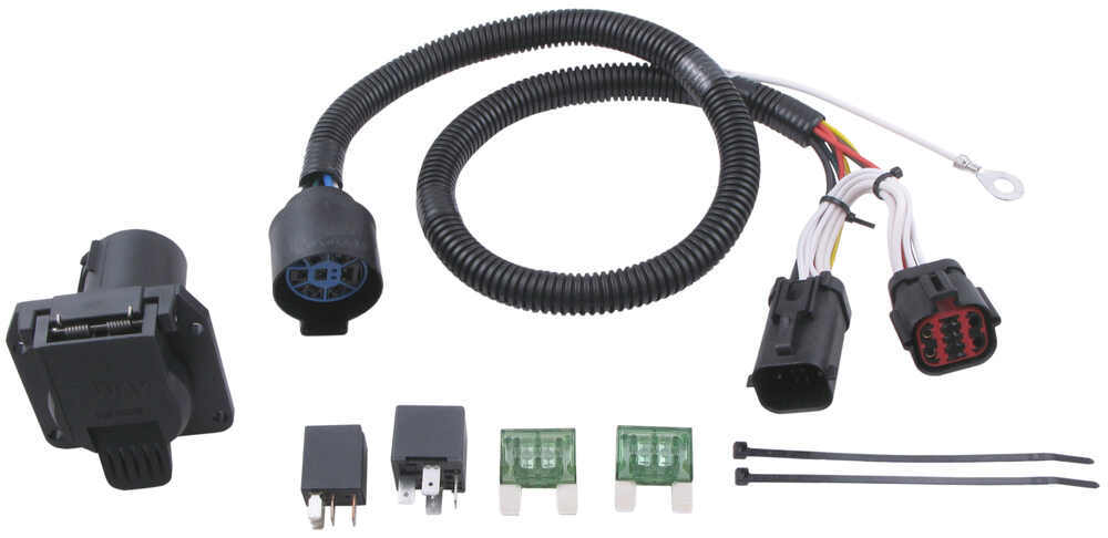 Ford F 350 7 Way Trailer Plug Wiring Diagram Ford Replacement Oem Tow Package Wiring Harness 7 Way