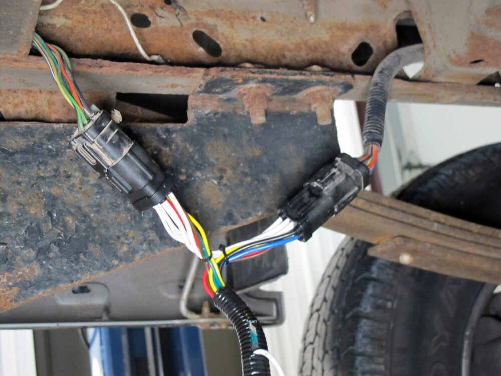 trailer wiring diagram for ford f 150 electric hydraulic pump replacement oem tow package harness 7 way tekonsha custom fit vehicle 118242