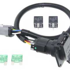 Trailer Plug Wiring Diagram 7 Way South Africa Ford Replacement Oem Tow Package Harness Super Duty Ready Custom Fit Vehicle 118243