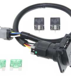 ford replacement oem tow package wiring harness 7 way super duty trailer hitch harness wiring plug connector receptacle for ford [ 1000 x 804 Pixel ]