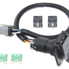 7 Rv Blade Wiring Diagram Polaris Ranger Ignition Switch Ford Replacement Oem Tow Package Harness, 7-way (super Duty) Ready Custom Fit Vehicle ...