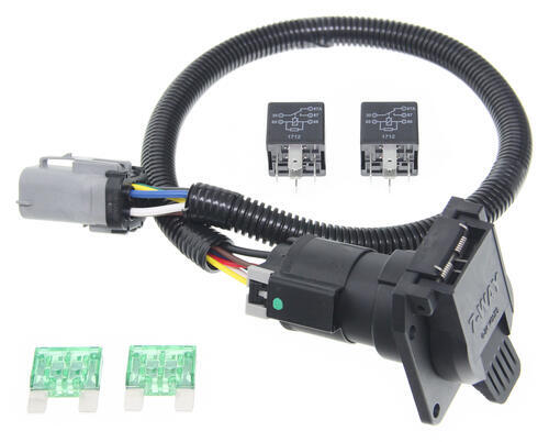 wiring diagram for 7 pin trailer harness jeep grand cherokee ford replacement oem tow package harness, 7-way (super duty) ready custom fit vehicle ...