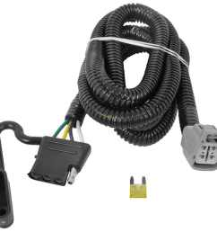 t one vehicle wiring harness for factory tow package 4 pole flat trailer [ 1000 x 926 Pixel ]