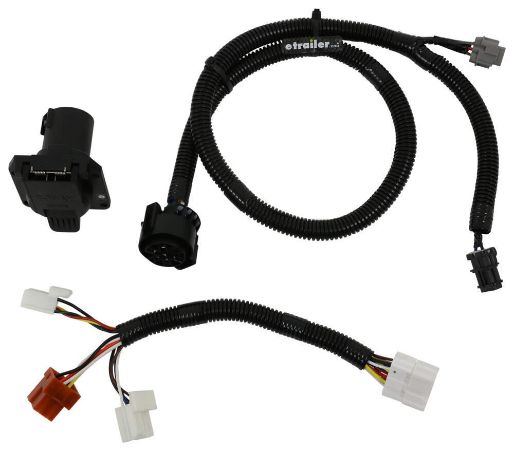 hight resolution of t one vehicle wiring harness with 7 way trailer connector tekonsha custom fit vehicle wiring 118266