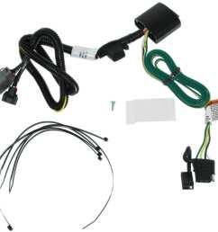 t one vehicle wiring harness for factory tow package 4 pole flat trailer connector tekonsha custom fit vehicle wiring 118269 [ 1000 x 953 Pixel ]