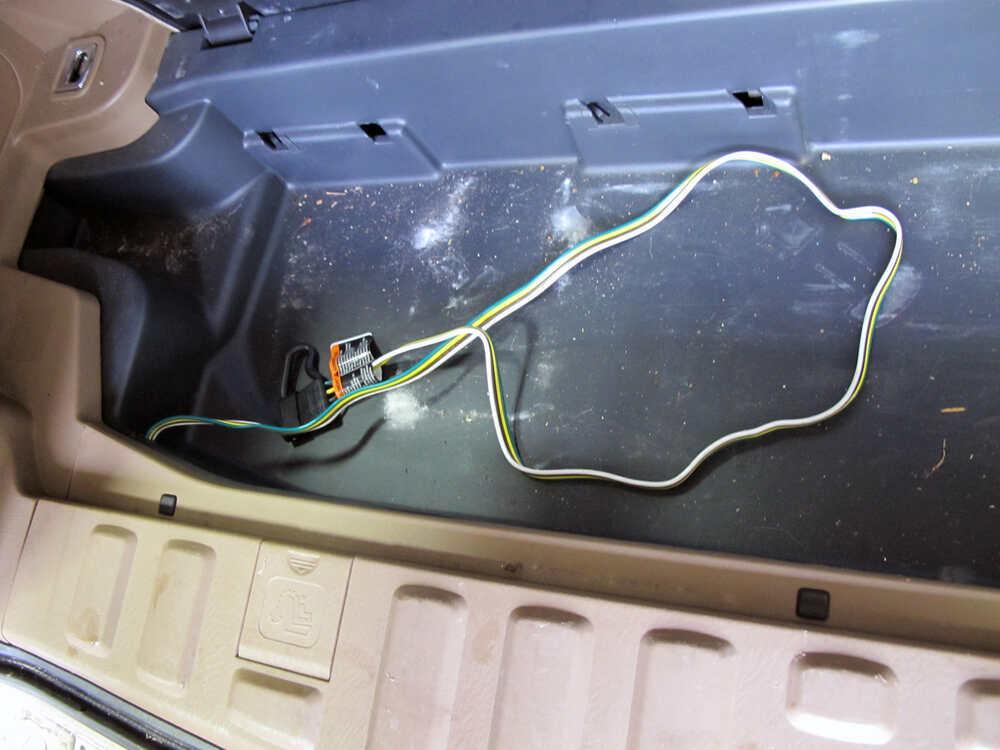 2003 Honda Pilot Trailer Wiring Harness Installation