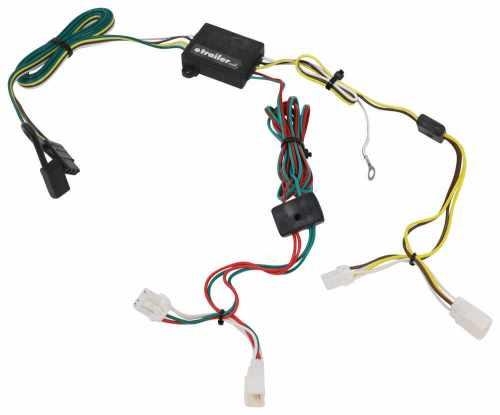small resolution of 118361 custom fit tekonsha trailer hitch wiring