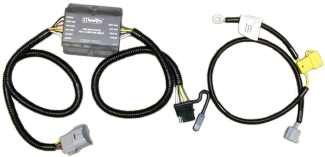T-One Vehicle Wiring Harness with 4-Pole Flat Trailer