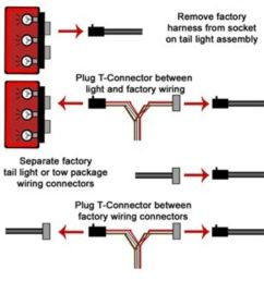 t one vehicle wiring harness with 4 pole flat trailer connector tekonsha custom fit vehicle wiring 118390 [ 1000 x 1000 Pixel ]