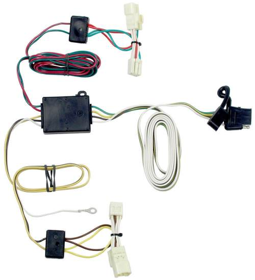small resolution of t one vehicle wiring harness with 4 pole flat trailer connector of t one vehicle wiring harness with 4 pole flat trailer connector
