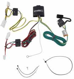 t one vehicle wiring harness with 4 pole flat trailer connector tekonsha custom fit vehicle wiring 118415 [ 974 x 1000 Pixel ]