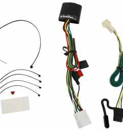 t one vehicle wiring harness with 4 pole flat trailer connector tekonsha custom fit vehicle wiring 118449 [ 1000 x 913 Pixel ]