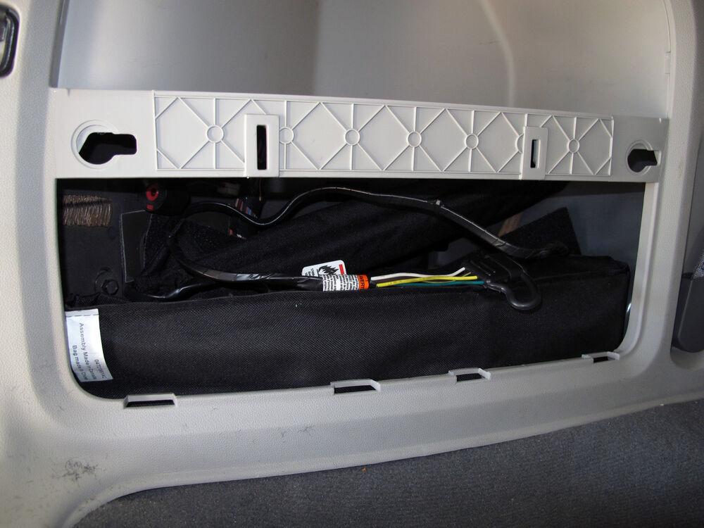 Trailer Wiring Harness Installation 2010 Volkswagen Jetta Sportwagen