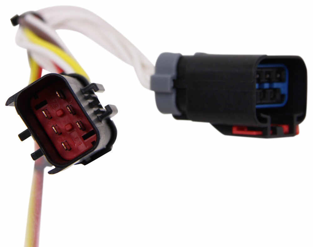 hight resolution of t one vehicle wiring harness with 4 pole flat trailer connector tekonsha custom fit vehicle wiring 118524