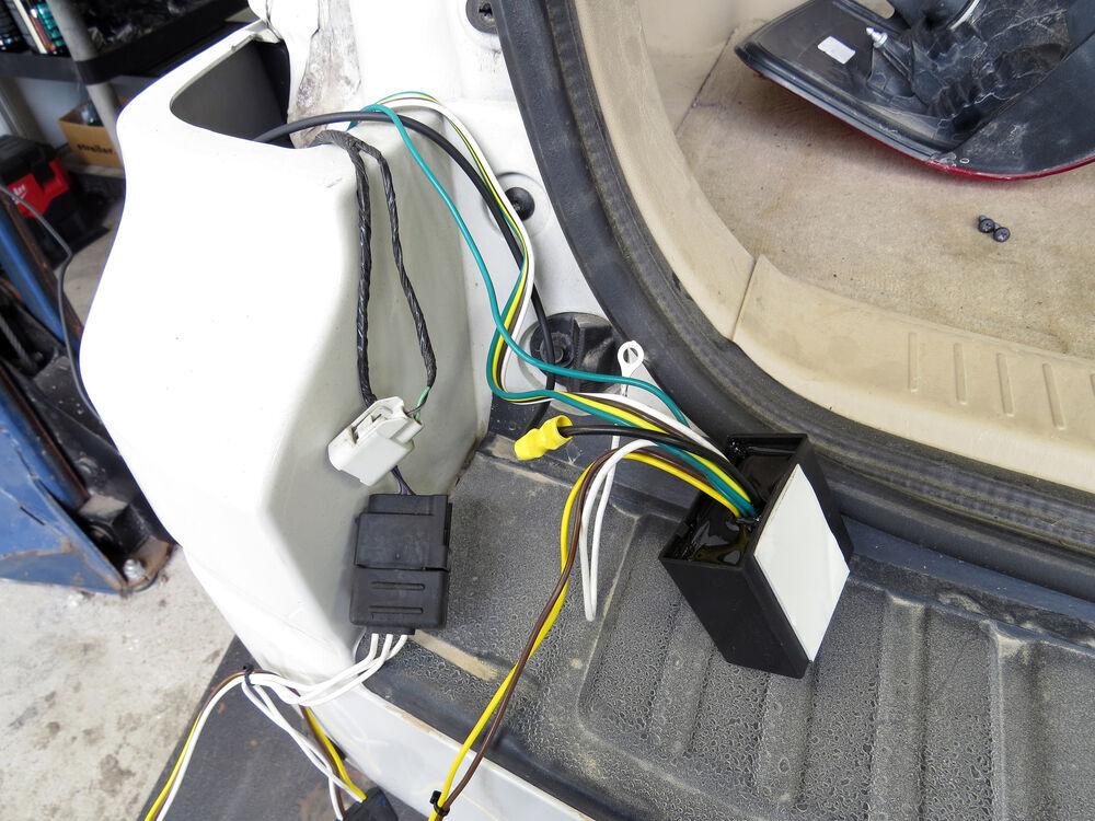 Trailer Wiring Harness 2010 Ford Escape